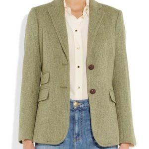 J. CREW | Wool Herringbone Hacking Jacket